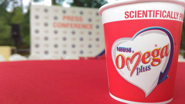 15 YEARS NESTLE OMEGA PLUS WALK-A-MILE, WALK TO A HEALTHIER HEART