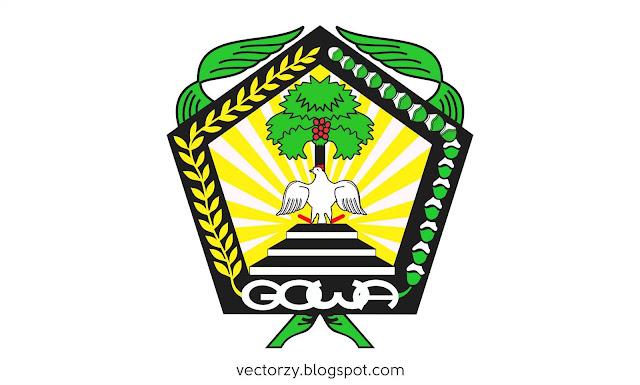 Logo Kabupaten Gowa Vektor CDR Coreldraw