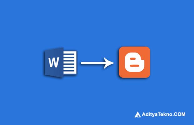 Cara Memindahkan Tulisan dari File MS Word ke Postingan Blog