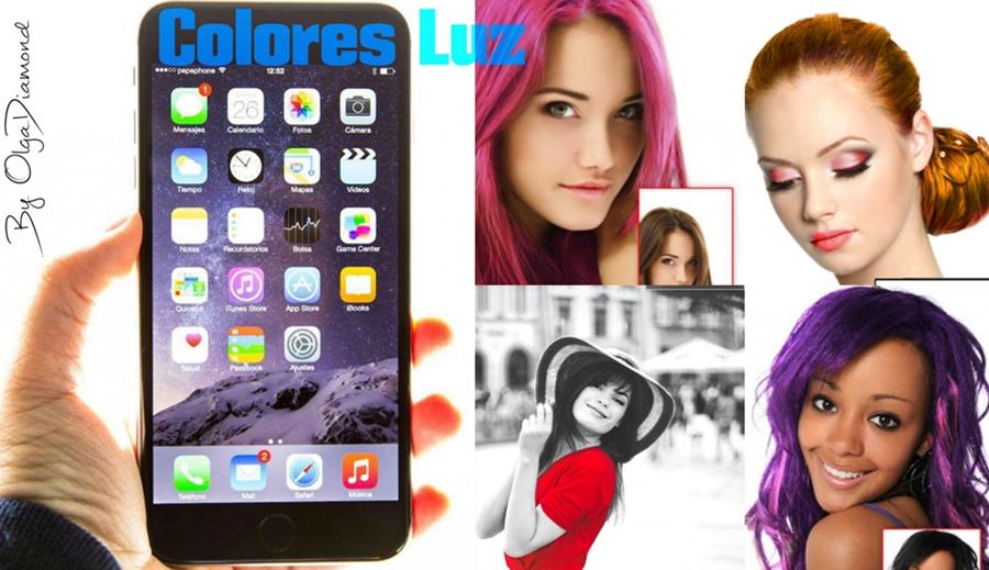 el color del cabello cambia con las fotos