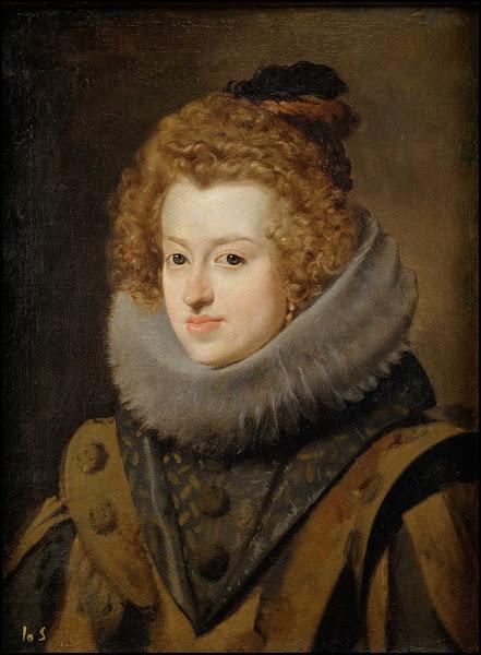 Диего Веласкес - Портрет Марии Австрийской, королевы Венгрии (ок.1630)