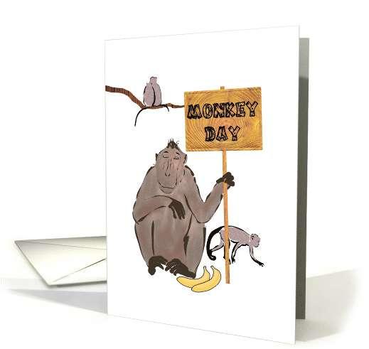 Monkey Day Wishes