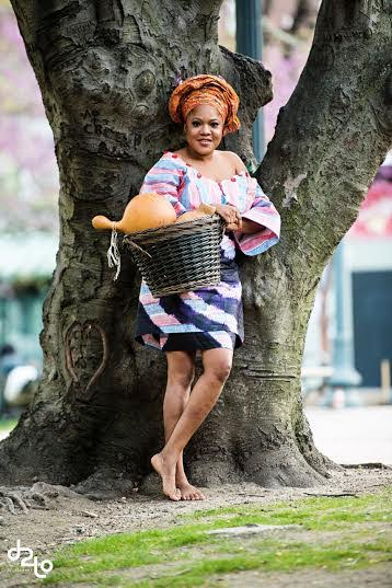 Actress Toyin Aimakhu Slays In African Inspired Shoot