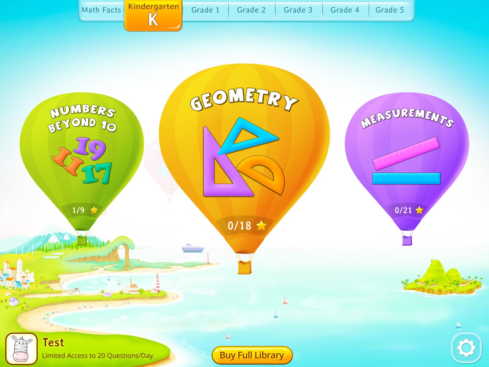 Splash Match #freemathapp educational app #review