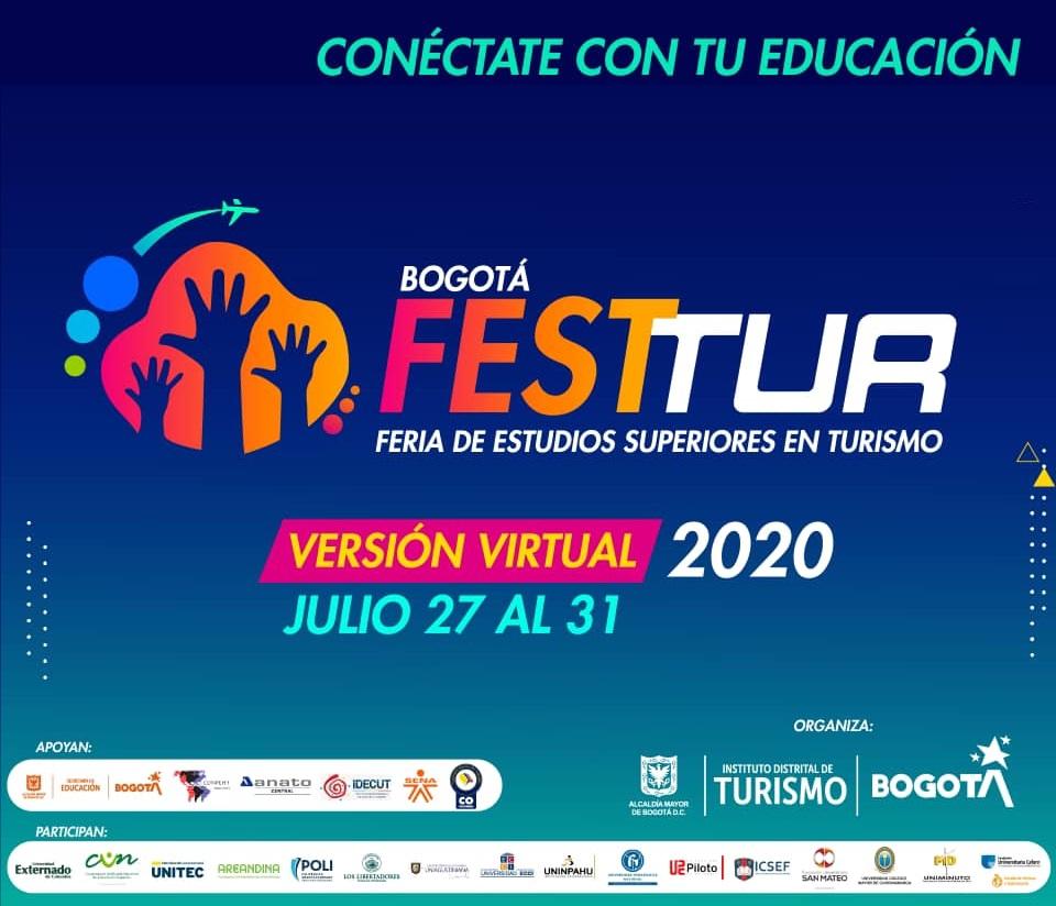 La CUN confirma su participación en el Bogotá Festtur 2020