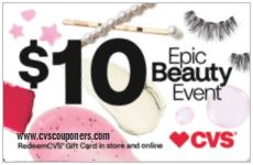 cvs epic gift card beauty event