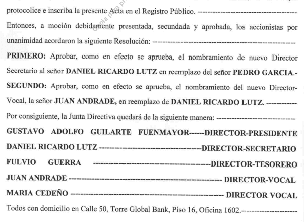 Nuevas pruebas confirman relación entre familia de Ramos Allup y boliburgueses