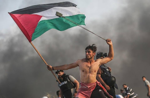 Anger and liberty lead the people in Gaza