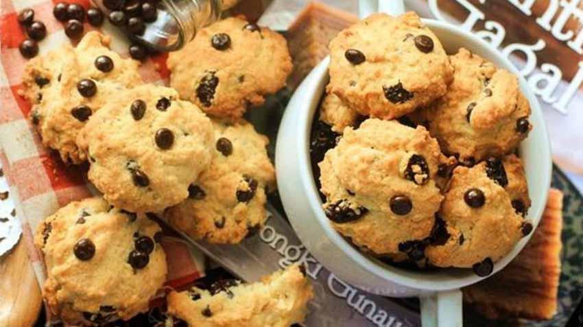 Vanila Chocochips Cookies Simpel Renyahh