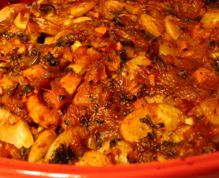 Baked Gigantes Beans in Tomato Sauce