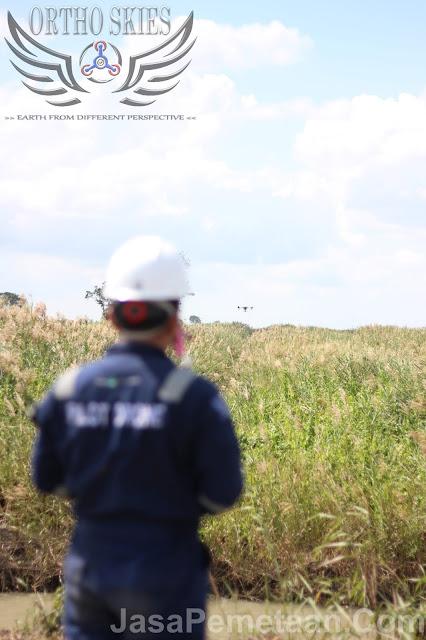 survey pemetaan drone spray