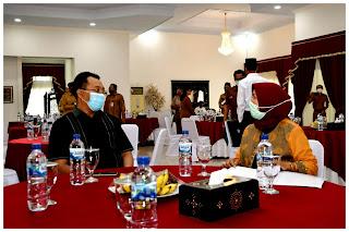 Silaturrahmi Dengan Pimpinan dan Anggota DPRD NTB, Gubernur Kembali Segarkan Visi Misi NTB Gemilang