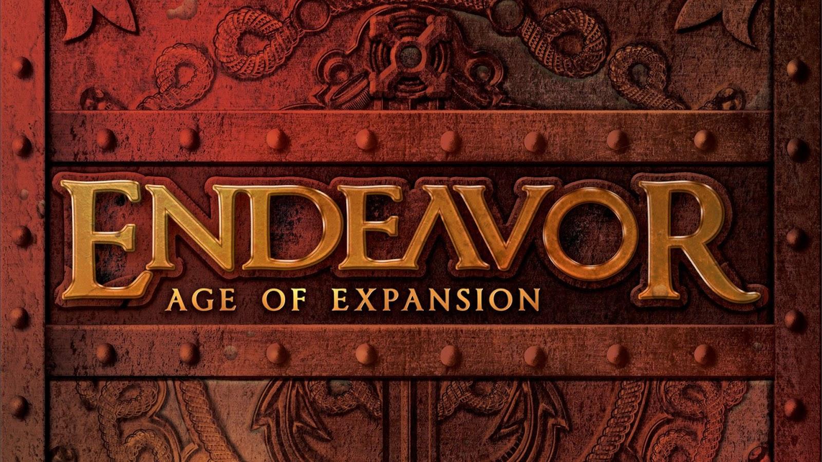 Kickstarter Highlights - Endeavor Age of Expansion