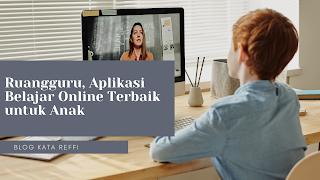 aplikasi belajar online