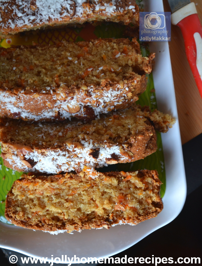EASY & Moist Carrot Coconut Bread