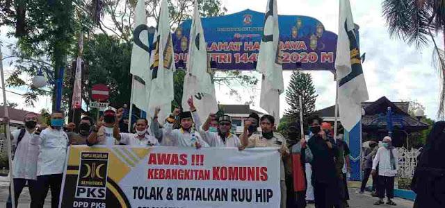 Fraksi Partai Demokrat dan Partai Keadilan Sejahtera (PKS) di DPR RI tetap meminta Rancangan Undang-undang Haluan Ideologi Pancasila (RUU HIP) dicabut dari daftar Program Legislasi Nasional (Prolegnas) Prioritas 2020.