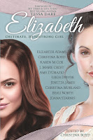 Book cover: Elizabeth: Obstinate, Headstrong Girl anthology edited by Christina Boyd