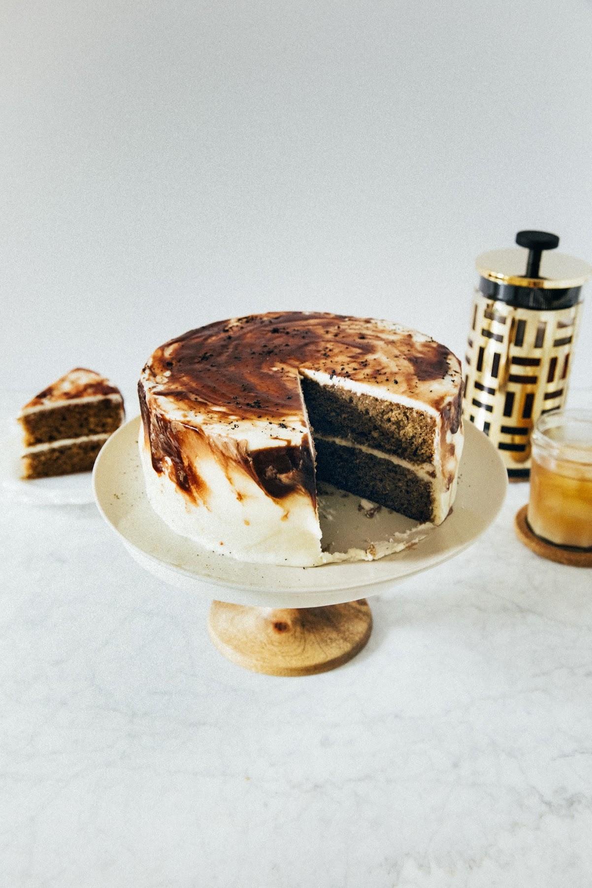 Vietnamese Iced Coffee Cake Hummingbird High A Desserts And