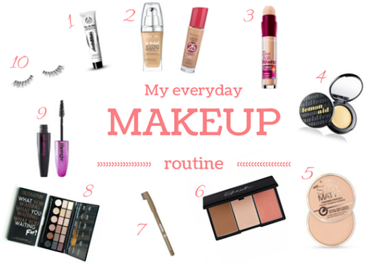 47. My everyday makeup routine