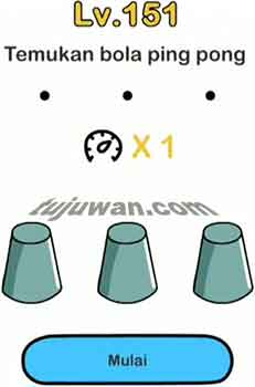 Brain Out : Temukan Bola Ping Pong