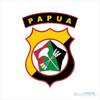 Polda Papua Logo vector (.cdr)