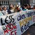 Συγκέντρωση διαμαρτυρίας μπροστά από την πρεσβεία της Αυστρίας ενάντια στο 12ωρο εργασίας - ΦΩΤΟ