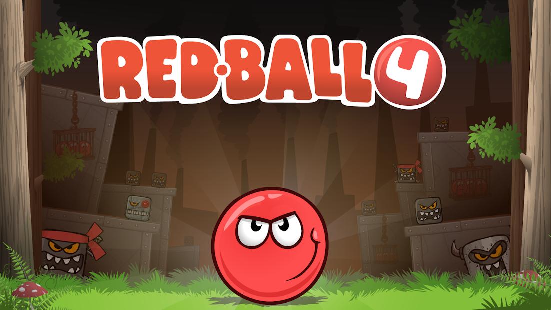 Red Ball 4 Hileli Apk - Bölüm + Can Hileli Apk