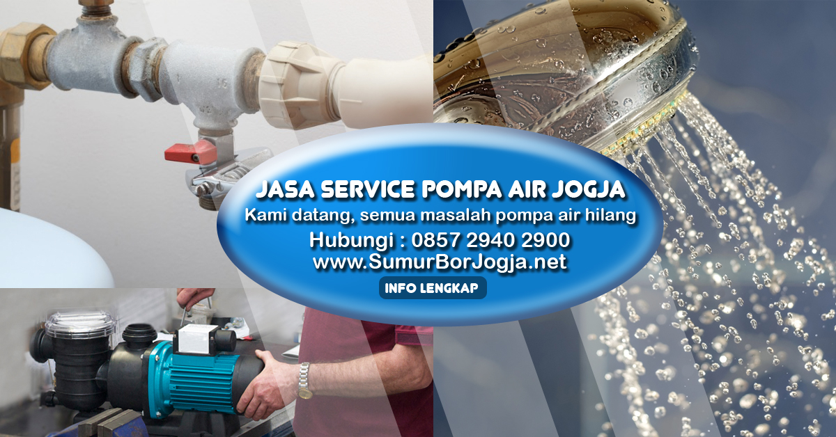 service pompa air yogyakarta