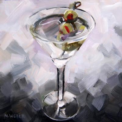 quarantini-martini-oil-painting-merrill-weber