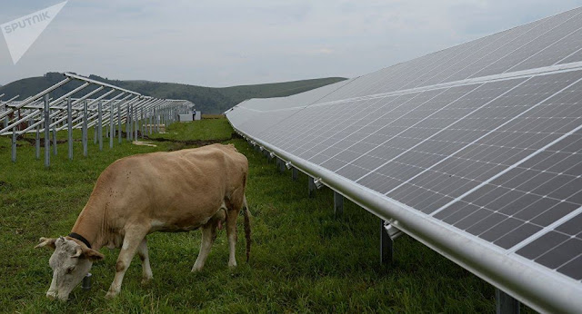 Armenia conecta planta solar a red nacional