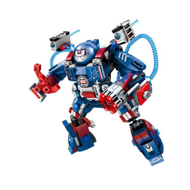 Lego Xếp Hình Siêu Anh Hùng Người Sắt Gồm 339 Chi Tiết_2