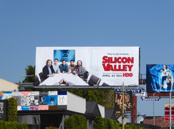 Silicon Valley season 3 HBO billboard