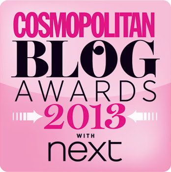 Please Vote for SweetieSal in the Cosmopolitan Blog Awards 2013