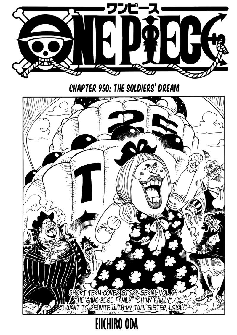 One Piece Manga Chapter 950 - Image 002