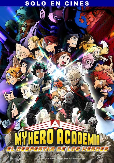 My Hero Academia The Movie – El despertar de los héroes
