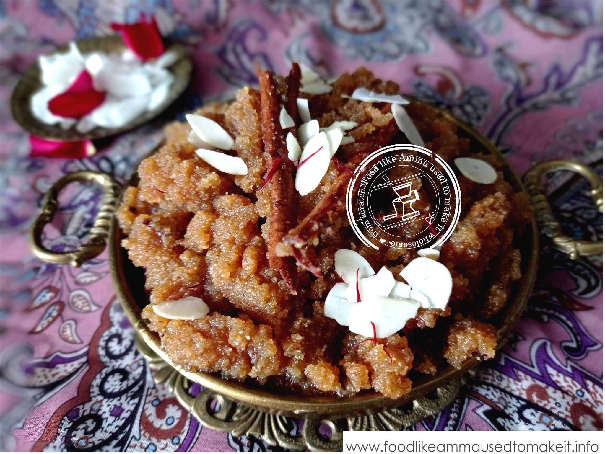 wedding soji recipe