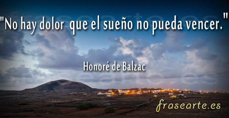 Frases para soñar, Honoré de Balzac