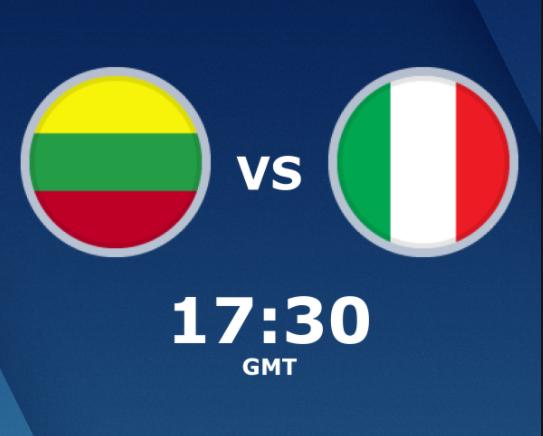 بث مباشر مباراة ايطاليا وليتوانيا