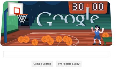 Basketball-2012 Google Doodle Game