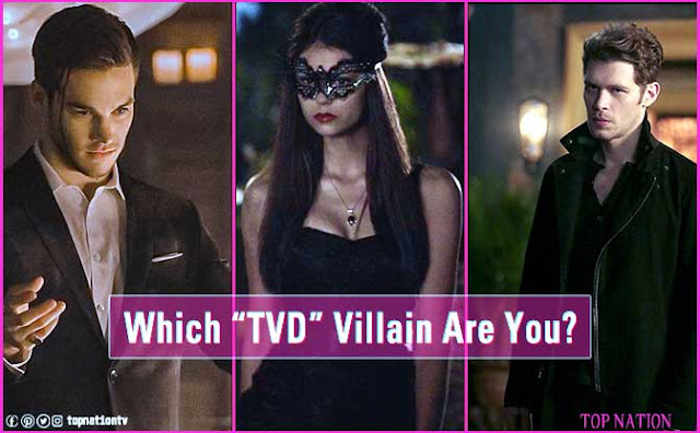 Find Out Which Villain From 'The Vampire Diaries' Are You?