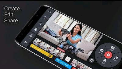 Mobile best app. kinemaster