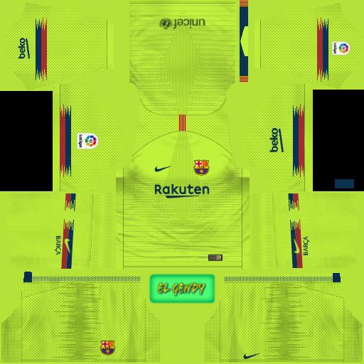 7dcd9ff05 FC Barcelona Kits 2019 2020 in La Liga - Dream League Soccer kits ...