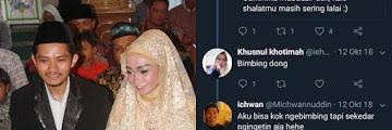 Mantap! Pasangan Ini Kenalan Lewat Twitter, Jadi Pengingat Shalat, Kemudian Putuskan Menikah Tanpa Pacaran.