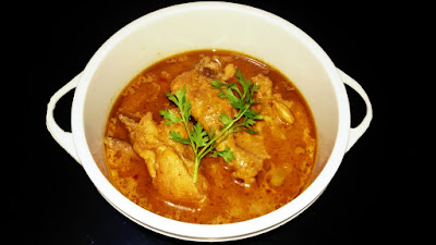 Nutty Chicken Recipe, Chicken Cooked In Almonds