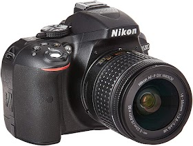 Nikon D5300 24.2MP DSLR Camera(Black)