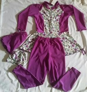 pakaian renang akhwat untuk anak usia 9 tahun