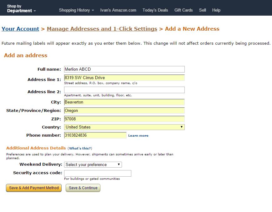 Shipping Amazon Purchases to Singapore using ezBuy (Formerly
