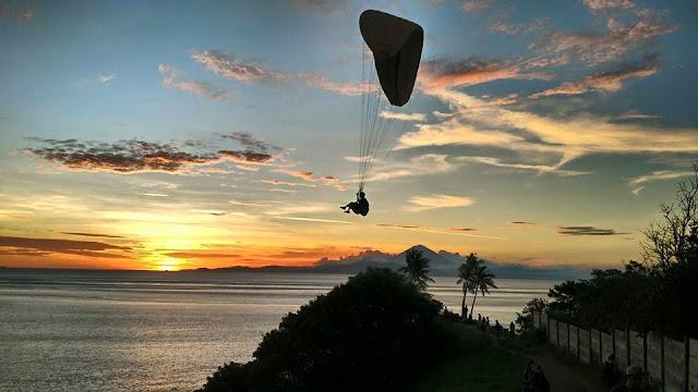Bukit Nipah, Spot Paralayang Lombok Sumbawa