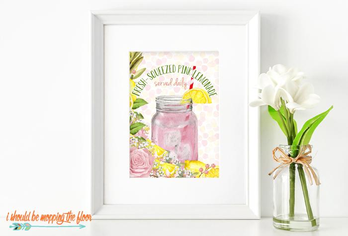Fresh Squeezed Lemonade Printable
