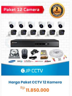 paket 12 kamera